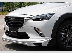 Mazda CX3 Tuned by AutoExe Looks Like a TrackReady SUV