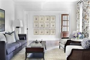 Multiple picture frames on wall living room traditional for Several living room ideas can count