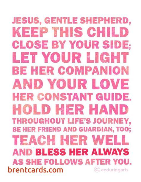 Birthday Card Australia Inspirational Baby Girl Blessing