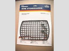 Buy Dick Cepek Rectangle Headlight 2 Wire Stone Guards