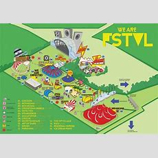We Are Fstvl 2013 Site Map  We Are Fstvl  Music, Map