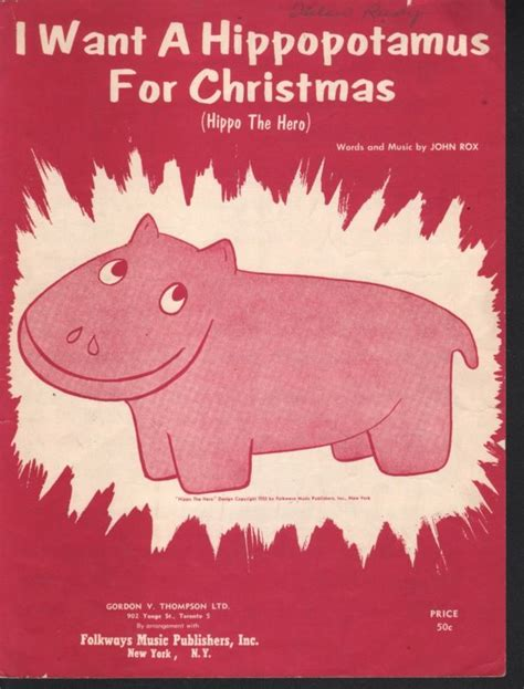 i want a hippopotamus for christmas shop collectibles