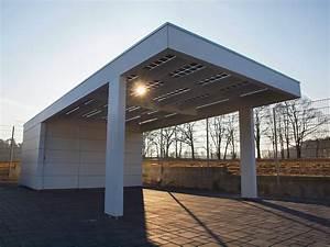 Carport Holz Modern : solarterrasse solarcarport ab 0 aus holz alu oder stahl ~ Markanthonyermac.com Haus und Dekorationen