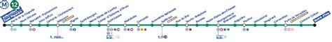 porte de versailles metro ligne 12 ligne 12 224 en m 233 tro