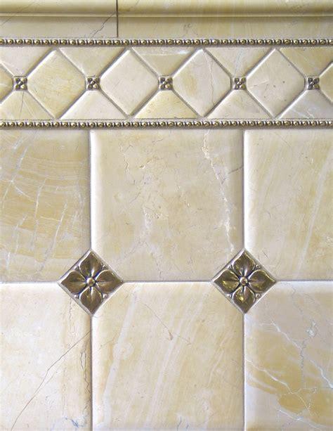 accent bathroom tile metal accent tiles bronzework studio lowitz company