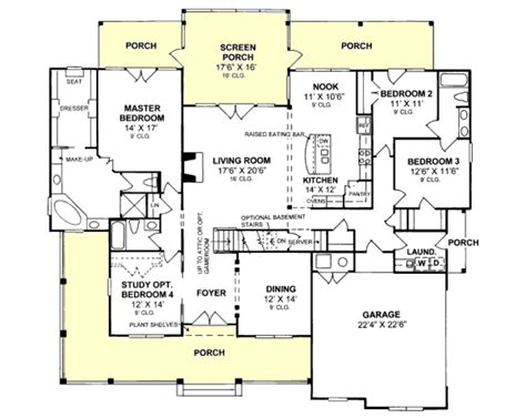4 bedroom farmhouse plans farmhouse style house plan 4 beds 3 00 baths 2512 sq ft