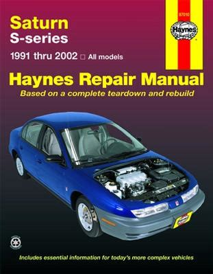 hayes car manuals 1999 saturn s series transmission control saturn s series haynes repair manual 1991 2002 hay87010