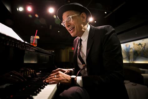 jeff goldblums orchestra debuts  cafe carlyle