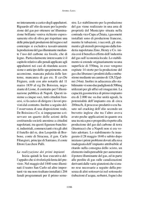 Illuminazione A Gas by Storia Dell Illuminazione A Gas Nella Citt 224 Di Napoli