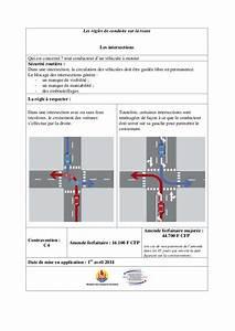 Intersection Code De La Route : code de la route nouvelles r gles ~ Medecine-chirurgie-esthetiques.com Avis de Voitures