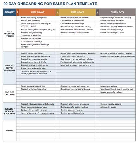 onboarding schedule template planner template