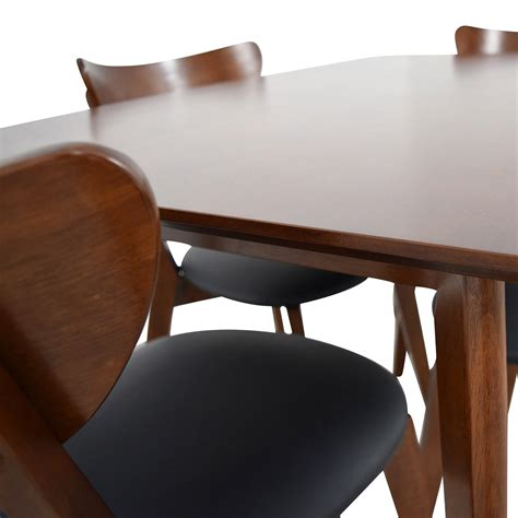 Buy Dining Table Chairs by 35 Wholesale Interiors Brown Dining Table Set With