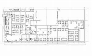 Restaurant design CAD layout plan - cadblocksfree -CAD