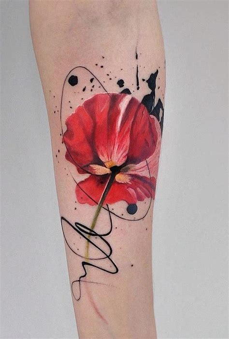 17 Best Ideas About Poppy Flower Tattoos On Pinterest