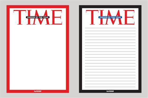time magazine person   year templates paperzip