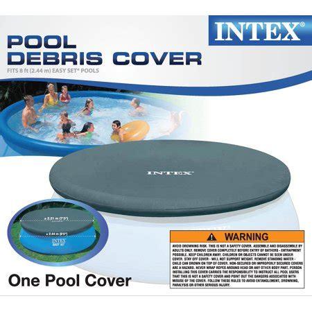 intex 6 foot pool cover intex easy set 8 foot pool cover walmart