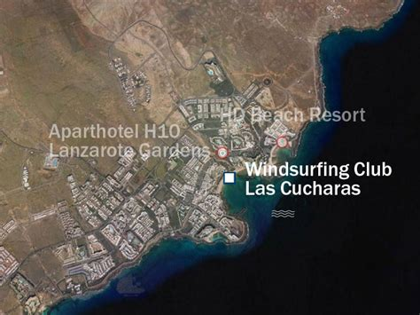 spanien kanarische inseln uebersicht kitesurfen