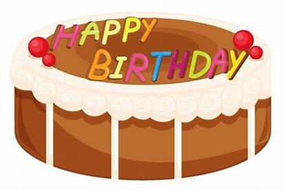 Cake Birthday Clipart Happy Cakes Clip Strawberry