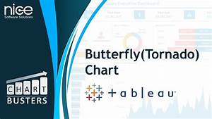 Butterfly Tornado Charts In Tableau Youtube