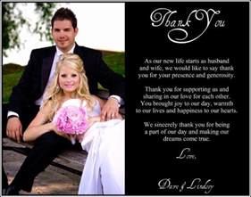 wedding ceremony programs wording best 25 wedding thank you wording ideas on
