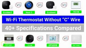 Best Wi-fi Thermostat  That Work  Without A  U0026quot C U0026quot  Wire