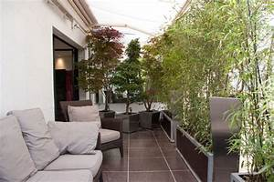 transformer un balcon d39appartement en terrasse cosy With amenagement de jardin contemporain 9 amenager un balcon en ville detente jardin
