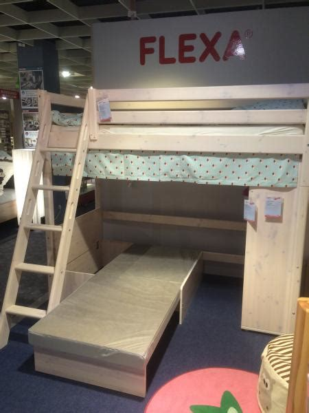 Bunk Beds With Couches Underneath by Bed Flexa Top Bunk With Underneath