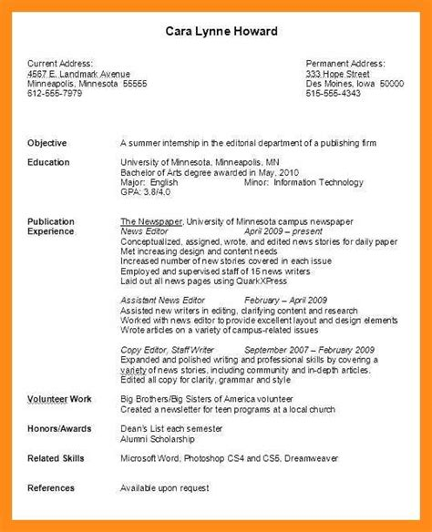Resume Guide by 12 13 Resume Guide For College Students