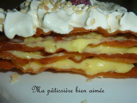 mille feuille croustillant bricks cr 232 me p 226 tissi 232 re amandes