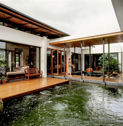 feng shui house feels   floating   lake