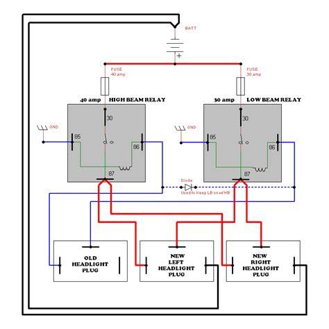 Headlight Wiring Upgrade Speedsterowners