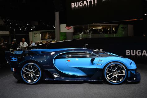 Expensive as it may be, buying a bugatti is hardly a newsworthy event. Bugatti Vision Gran Turismo is the future, now w/video | Autoblog
