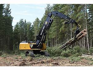 Cat Tracked Knuckle Boom Loader | Forestry Equipment ...