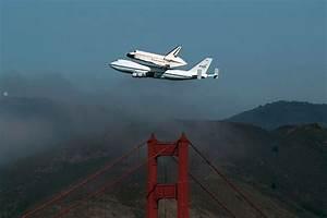 Space Shuttle flyover dazzles Bay Area | SFBay :: San ...