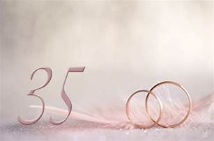 35 year wedding anniversary 35th year wedding anniversary gifts and ideas coral wedding anniversary my wedding anniversary