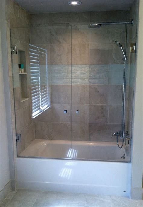 french shower doors mount  swing door   wall