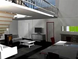 Escalier Sweet Home 3d : sweet home 3d render youtube ~ Premium-room.com Idées de Décoration