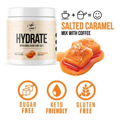 0 cal & glutenfree female owned company shop products here bit.ly/shopcoffeeovercardio. HYDRATE with Himalayan Sea Salt is the newest addition to ...