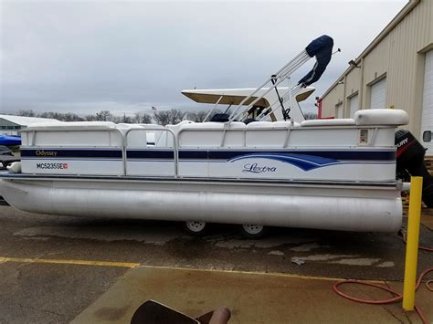 Used Fishing Pontoon Boats For Sale In Florida by Used Pontoon Odyssey Boats For Sale Boats