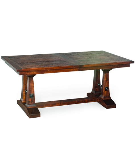 Trestle Dining Table by Vienna Trestle Dining Table Amish Direct Furniture