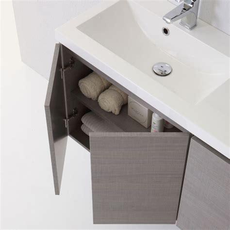 profondità mobili bagno mobile sospeso per bagno moderno da 90 cm con ante kv store