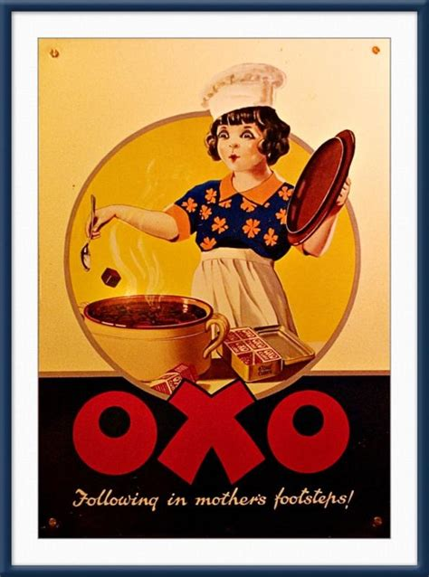 affiche vintage cuisine 134 best bisto bovril oxo adverts images