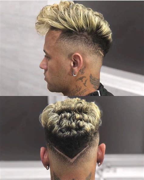top   hairstyles  mens   neymar jr