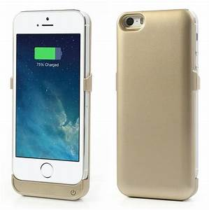Champaign Gold for iPhone 5 5s 5s External Battery Power ...
