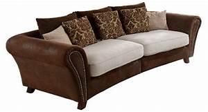Günstige Big Sofa : cavadore 500 big sofa ~ Frokenaadalensverden.com Haus und Dekorationen