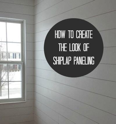 Where To Buy White Shiplap by How To Hang Shiplap Paneling Pretty Tight Small