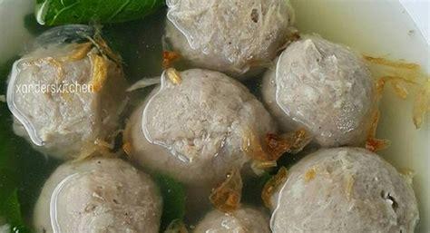 Kali ini pengen coba dengan resep roti manis biasa yang dikura. Resep Bakso Sapi…kenyal enak tanpa baking powder