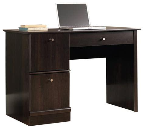 sauder computer desk cinnamon cherry sauder select computer desk in cinnamon cherry