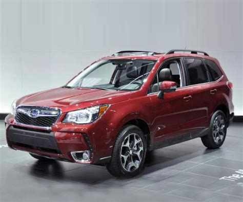 subaru forester red 2018 2018 subaru forester redesign release date changes