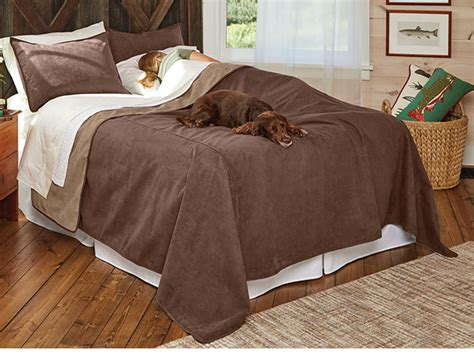 Dogproof Bedding  Reversible Dogproof Coverlet And